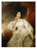 Maria Malibran-Garcia (1808-1836), dans le rôle de Desdémone, à l'acte III  Giclee Print by Henri Decaisne