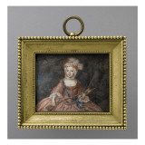 Louis XV, enfant Gicl&#233;e-Druck von Antoine Vestier