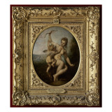 L&#39;amour d&#233;sarm&#233; Reproduction proc&#233;d&#233; gicl&#233;e par Jean Antoine Watteau