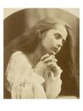 Petite fille en prière Lámina giclée por Julia Margaret Cameron