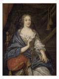 Louise-Françoise de Baume Blanc, Mademoiselde Vallière, duchesse de Vaujours (1644-1710) Giclee Print by Jean Nocret