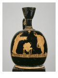 Lekythos Aryballisque Attic Red-Figure: Harem Scene Giclee Print