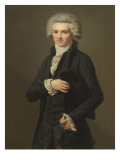 Maximilien de Robespierre (1759-1794), conventionnel Reproduction proc&#233;d&#233; gicl&#233;e par Pierre Roch Vigneron