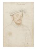Louis De Sainte-Maure, Marquis De Nesle. (1520-1572) Giclee Print by François Clouet