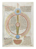 Liber Floridus by Lambert of Saint-Omer: Astrology Giclee Print