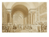 Marriage of Napoleon and Marie-Louise April 2, 1810 Giclee Print by Benjamin Zix