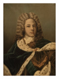 Louis de Rouvroy, duc de Saint-Simon, m&#233;morialiste (1675-1755) Gicl&#233;e-Druck von Jean Louis Victor Viger