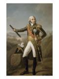 Jean-Baptiste, comte Jourdan, maréchal de l'Empire en 1804 (1762-1833) Giclée-Druck von Joseph Marie Vien