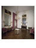 Vue intérieure du petit Trianon : petite salle à manger Reproduction procédé giclée