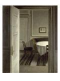 Intérieur, Strandgade,30 Reproduction procédé giclée par Vilhelm Hammershoi