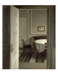 Int&#233;rieur, Strandgade,30 Giclee Print by Vilhelm Hammershoi