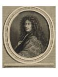 Jean-Henri d'Anglebert, claveciniste ordinaire de la Musique de la chambre du Roi Giclée-Druck von Cornelis Vermeulen