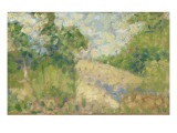 Paysage rose Giclee Print by Georges Seurat