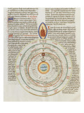 Liber Floridus by Lambert of Saint-Omer: the Universe Giclee Print