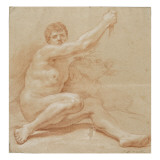 Académie d'homme Giclee Print by Jean Baptiste Van Loo