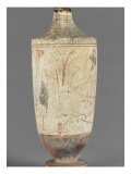 Lekythos in White: Funeral Scene: Charon on His Boat Giclee Print