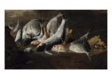 Nature morte. Poissons et crabes Giclee Print by Giuseppe Recco