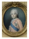 Louis-Stanislas-Xavier De France, Comte De Provence Giclee Print by Maurice Quentin de La Tour