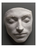 Mask Alleged Charles Verninac, Nephew of Delacroix Giclee Print