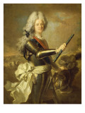 Jacques Fitz-James (1670-1734), 1st Duke of Berwick Giclee Print by Hyacinthe Rigaud