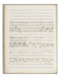 """La bonne chanson. Voix, piano. Op. 61 : Mélodie """"N'est-ce pas  Nous irons gais et lents"""" Giclee Print by Gabriel Fauré"""