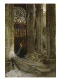 Intérieur de cathédrale Giclee Print by Georges Antoine Rochegrosse