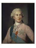 Louis XVI Reproduction procédé giclée par Joseph Siffred Duplessis