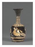 Lekythos Aryballisque Red Figures: Bird and Palmettos Giclee Print