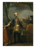 Louis XV (1710-1774), roi de France Giclée-Druck von Loo Carle Van