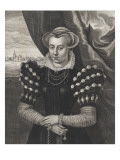 Domicella Magdalena Moonsia Giclée-Druck von Cornelius de Visscher