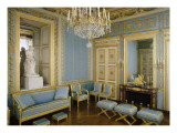Inside View: Blue Room of the Empress Marie-Louise Giclee Print