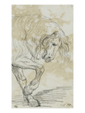 Avant-train d&#39;un cheval Giclee Print by Jacques-Louis David