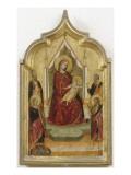 Madone entourée de quatre saints Giclée-tryk af Bernardo Daddi