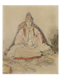 Mari&#233;e juive de Tanger Gicl&#233;e-Druck von Eugene Delacroix
