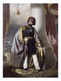Mahmud II, sultan ottoman en 1808 (1784-1839) Giclee Print by Henri Schlesinger