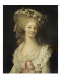 Marie-Thérèse-Louise de Savoie Carignan, princesse de Lamballe (1749-1792) Giclee Print by Louis Edouard Rioult