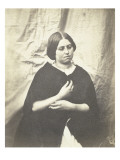 Margaret Allen (1836-1855), amie anglaise d&#39;Ad&#232;le Hugo et d&#39;Auguste Vacquerie Gicl&#233;e-Druck von Auguste Vacquerie