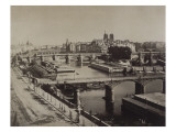 Panorama de Paris, vers le Pont-Neuf Giclee Print by Gray Gustave Le