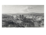 Paris en 1860 Giclee Print by Edouard Willmann