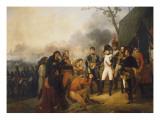 Napoléon Ier devant Madrid, l'Empereur recevant une députation de la ville, 3 décembre 1808 Giclée-Druck von Antoine Charles Horace Vernet