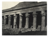 Nubia: Great Temple of Isis at Philae, Gallery East Giclee Print by Camp Maxime Du