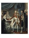 Napoléon Ier présente le roi de Rome aux dignitaires de l'Empire, 20 mars 1811 Giclee Print by Georges Rouget