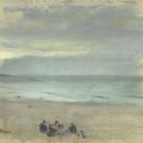 Marinkåren Gicléetryck av Edgar Degas