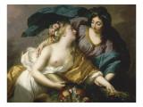 La Paix ramenant l'Abondance Giclée-Druck von Elisabeth Louise Vigée-LeBrun