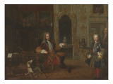 Philip, Duke of Orleans, Regent of France (1674-1723) Giclee Print