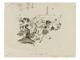 Musiciens à l'orchestre Giclee Print by Édouard Manet