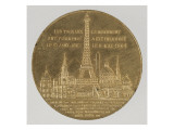 Medal: Inauguration of the Eiffel Tower, May 6, 1889 Giclee Print