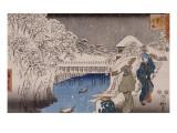 Ochanomizu Giclee Print by Ando Hiroshige