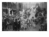 """Esquisse pour un """"Vendredi au Salon des Artistes Français"""" Giclée-Druck von François Vizzavona"""