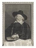 Pierre Scriverius (d'après P. Soutman) Giclée-Druck von Cornelius de Visscher